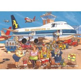 Jigsaw puzzle 500 pcs - Wasgij Original 2 - Happy Holidays - Graham Thompson (by Jumbo)