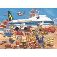 Jigsaw puzzle 500 pcs - Wasgij Original 2 - Happy Holidays - Graham Thompson (by Jumbo)