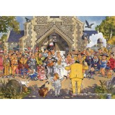 Jigsaw puzzle 500 pcs - Wasgij Original 4 - Day to Remember - Graham Thompson (by Jumbo)