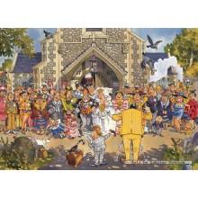 Jigsaw puzzle 500 pcs - Wasgij Original 4 - Day to Remember - Graham Thompson (by Jumbo)