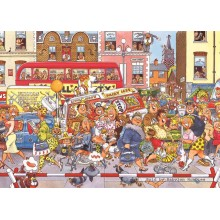 Jigsaw puzzle 500 pcs - Wasgij Original 3 - Full Monty Fever - Graham Thompson (by Jumbo)