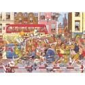 500 pcs - Wasgij Original 3 - Full Monty Fever - Graham Thompson (by Jumbo)