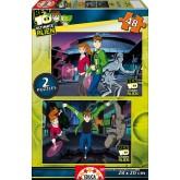 Jigsaw puzzle 48 pcs - Ben 10 Alien Force (2x) (by Educa)