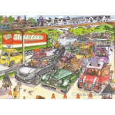 Jigsaw puzzle 1000 pcs - Wasgij Original 19 -  Pitstop - Graham Thompson (by Jumbo)