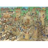 Jigsaw puzzle 1000 pcs - Castle Conflict - Jan van Haasteren (by Jumbo)