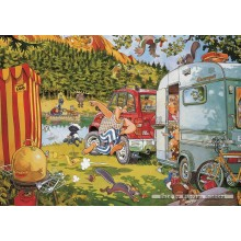 Jigsaw puzzle 500 pcs - Wasgij Original 7 - Bear Necessities - Graham Thompson (by Jumbo)