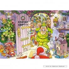Jigsaw puzzle 1000 pcs - Wasgij Christmas 8 - Christmas Getaway ! - Graham Thompson (by Jumbo)