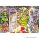 1000 pcs - Wasgij Christmas 8 - Christmas Getaway ! - Graham Thompson (by Jumbo)