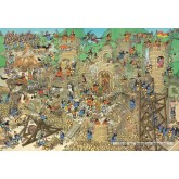 Jigsaw puzzle 5000 pcs - Castle Conflict - Jan van Haasteren (by Jumbo)