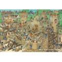 5000 pcs - Castle Conflict - Jan van Haasteren (by Jumbo)