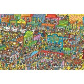 1000 pcs - Wild Wild West - Where is Wally (by Jumbo)