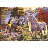 1000 pcs - Hidden Horses - Hidden Images (by Jumbo)