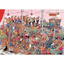 Jigsaw puzzle 500 pcs - German Beer Party - Jan van Haasteren (by Jumbo)