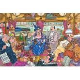 1000 pcs - Wasgij Mystery 9 - Great Train Robbery - Wasgij Mystery (by Jumbo)
