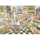 1000 pcs - Wasgij Original 20 - Fishy Business - Graham Thompson (by Jumbo)