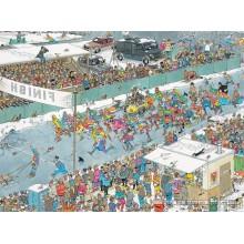 Jigsaw puzzle 1000 pcs - Eleven City Ice Tour - Jan van Haasteren (by Jumbo)