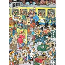 Jigsaw puzzle 500 pcs - Platform Pandemonium - Jan van Haasteren (by Jumbo)