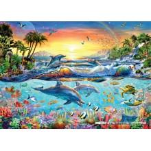Jigsaw puzzle 1000 pcs - Tropical Lagoon (by Jumbo)