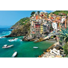 Jigsaw puzzle 1000 pcs - Seaview at Cinque Terre Italy (by Jumbo)