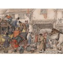 1000 pcs - The stage coach - Anton Pieck (by Jumbo)