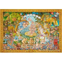 Jigsaw puzzle 4000 pcs - The Pig in Art - Ryba (by Heye)
