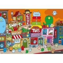 Jigsaw puzzle 1000 pcs - Uglytown, Horvath - Uglydoll (by Heye)