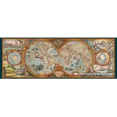 Jigsaw puzzle 6000 pcs - Hemisphere Map (by Heye)