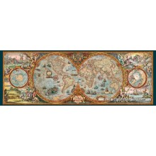 Jigsaw puzzle 6000 pcs - Hemisphere Map (by Heye)