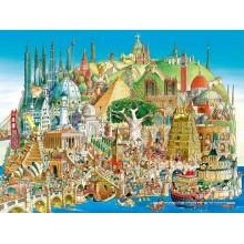 Jigsaw puzzle 1500 pcs - Global City - Prades (by Heye)