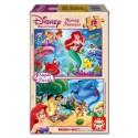 16 pcs - 2x16 Disney Princess - Super (by Educa)