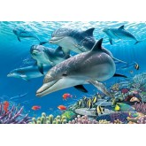 Jigsaw puzzle 1500 pcs - Paradise Under The Sea - Genuine (by Educa)