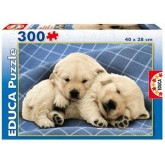 Jigsaw puzzle 300 pcs - Sweet Puppies (by Educa)