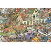 Jigsaw puzzle 1500 pcs - The Storm - Jan van Haasteren (by Jumbo)