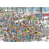 Jigsaw puzzle 1000 pcs - On Thin Ice - Jan van Haasteren (by Jumbo)
