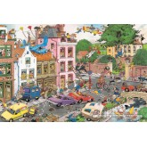 Jigsaw puzzle 1500 pcs - Friday the 13th - Jan van Haasteren (by Jumbo)