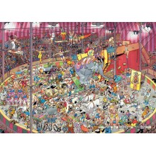 Jigsaw puzzle 1000 pcs - The Circus - Jan van Haasteren (by Jumbo)