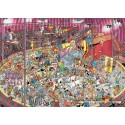 1000 pcs - The Circus - Jan van Haasteren (by Jumbo)