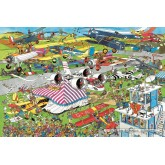 Jigsaw puzzle 1500 pcs - Air Show - Jan van Haasteren (by Jumbo)