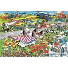 Jigsaw puzzle 1500 pcs - Air Show - Jan van Haasteren (by Jumbo)