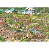 Jigsaw puzzle 3000 pcs - The Park - Jan van Haasteren (by Jumbo)