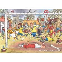 Jigsaw puzzle 1000 pcs - Wasgij Original 14 - Football Madness - Graham Thompson (by Jumbo)