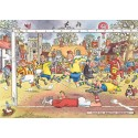 1000 pcs - Wasgij Original 14 - Football Madness - Graham Thompson (by Jumbo)