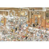 Jigsaw puzzle 2000 pcs - The Kitchen - Jan van Haasteren (by Jumbo)