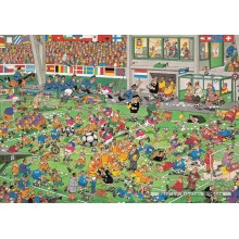 Jigsaw puzzle 2000 pcs - Championship Football - Jan van Haasteren (by Jumbo)