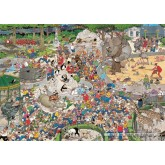 1000 pcs - The Zoo - Jan van Haasteren (by Jumbo)