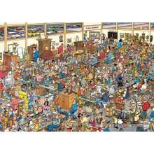 Jigsaw puzzle 1000 pcs - The Antique Show - Jan van Haasteren (by Jumbo)