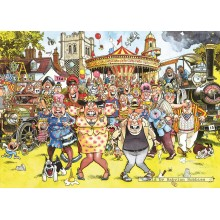 Jigsaw puzzle 1000 pcs - Wasgij Original 13 - Calendar Gals ! - Graham Thompson (by Jumbo)