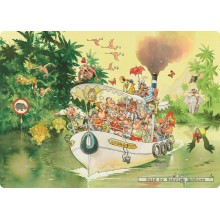 Jigsaw puzzle 1000 pcs - Wasgij Original 12 - The Mouth Of The River - Graham Thompson (by Jumbo)