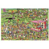 Jigsaw puzzle 1500 pcs - Ascot Horse Racing - Jan van Haasteren (by Jumbo)