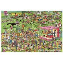 Jigsaw puzzle 1500 pcs - Ascot Horse Racing - Jan van Haasteren (by Jumbo)